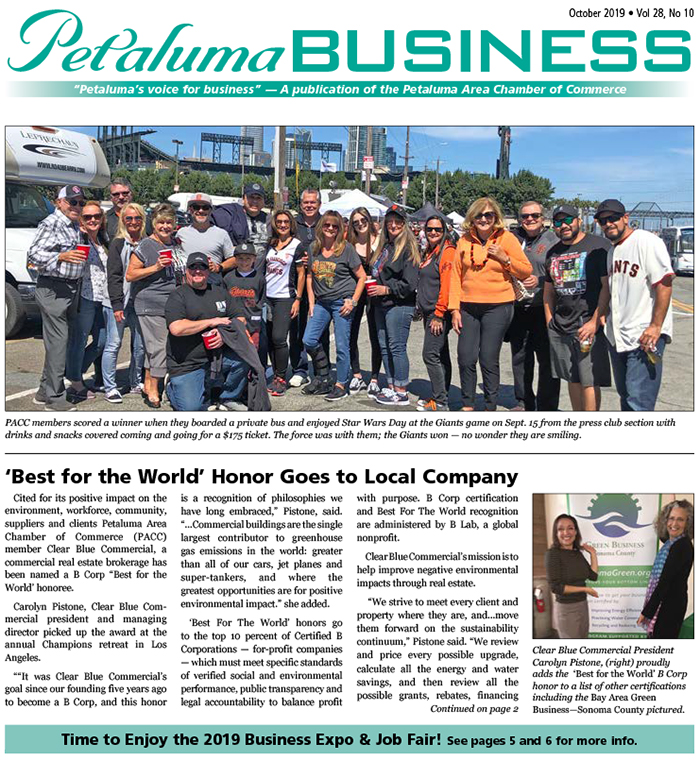 Petaluma Business News May 2019